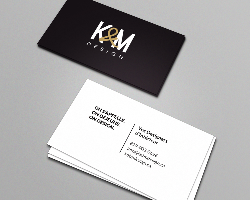 K&M Design / Business cards
