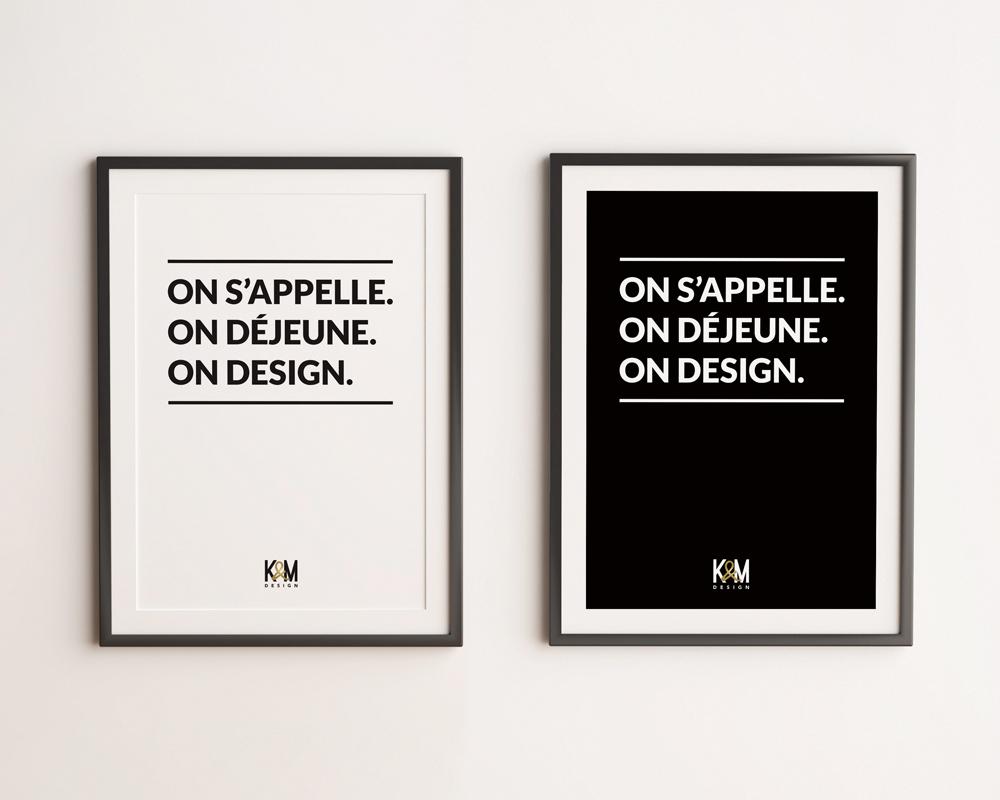 K&M Design / Tag Line Posters
