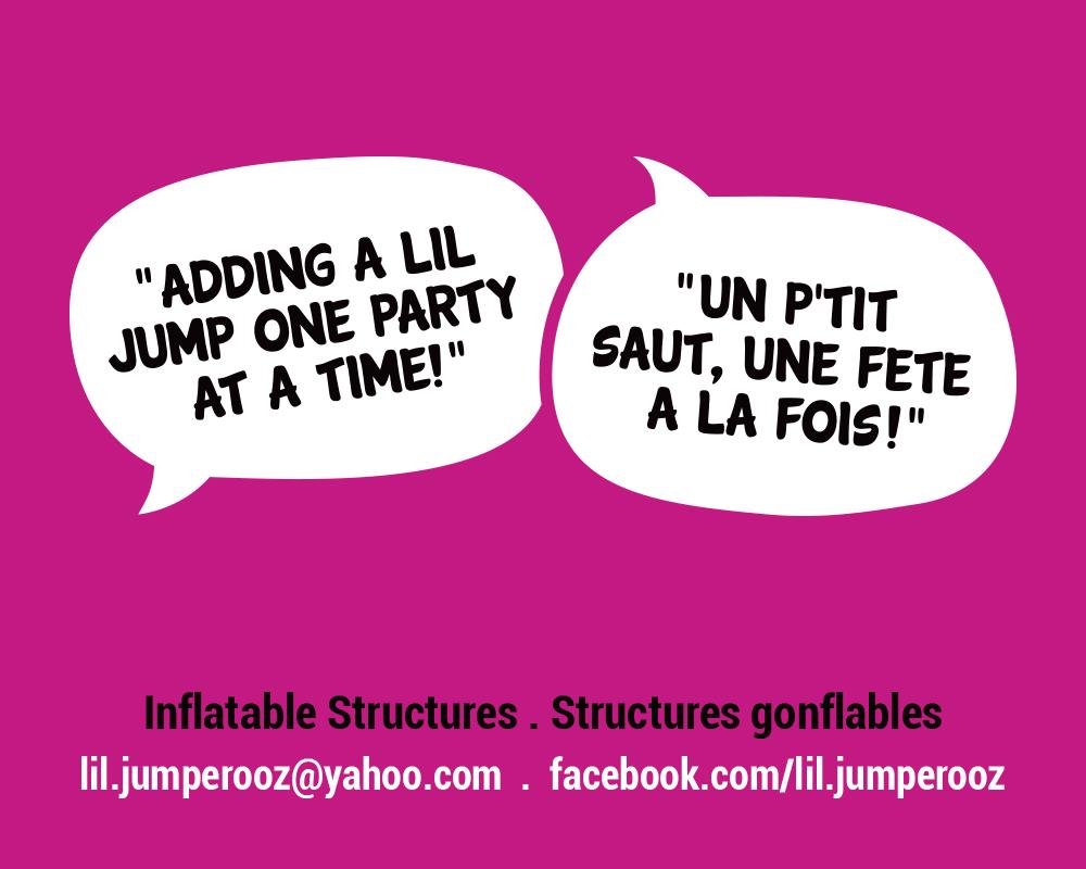 Lil Jumperooz / tag line