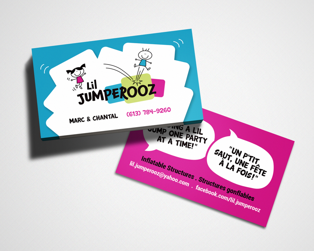 Lil Jumperooz / business card