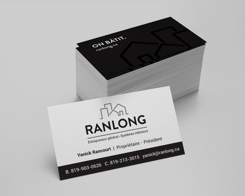 Les Entreprises Ranlong / business cards