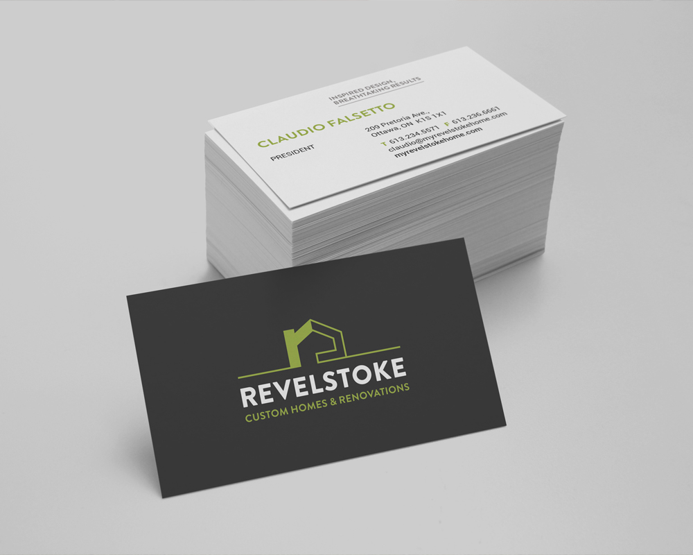 Revelstoke / business cards