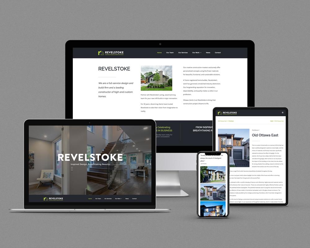 Revelstoke / responsive website