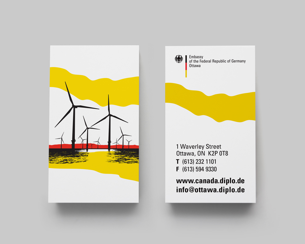 Federal Republic of Germany Embassy / business cards