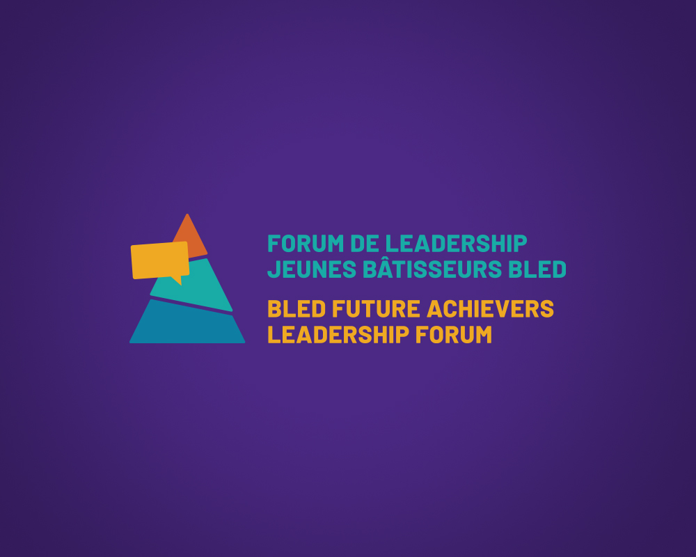University of Ottawa / Bled Future Achievers Leadership Forum / logo design