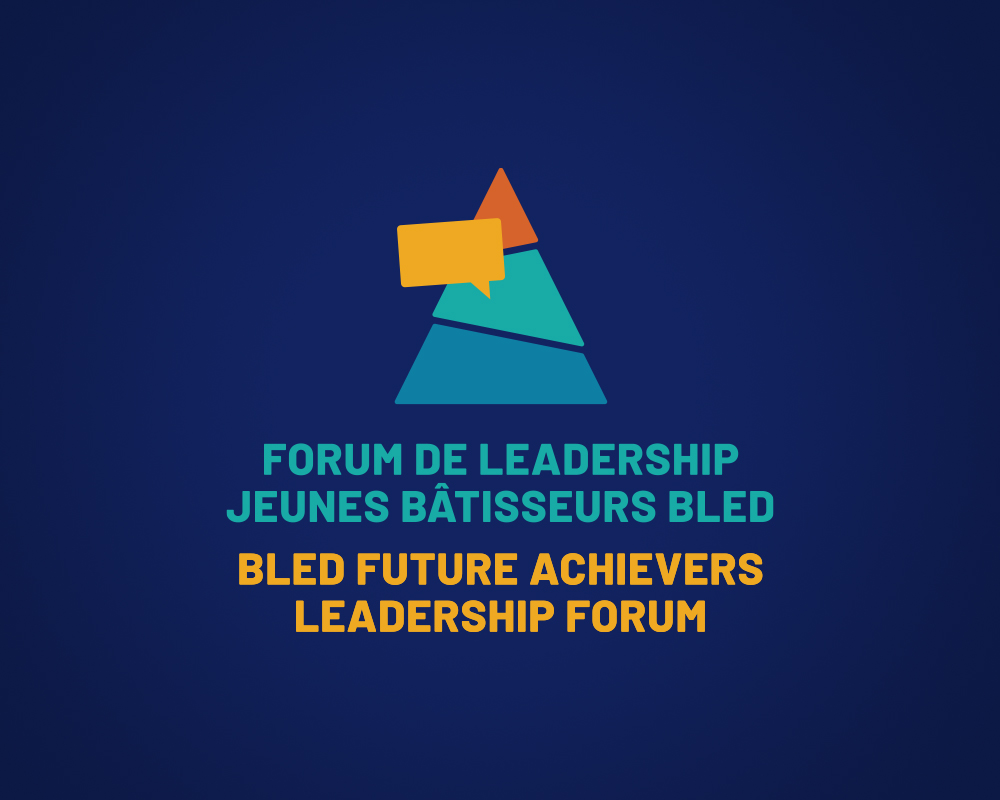 University of Ottawa / Bled Future Achievers Leadership Forum / logo design